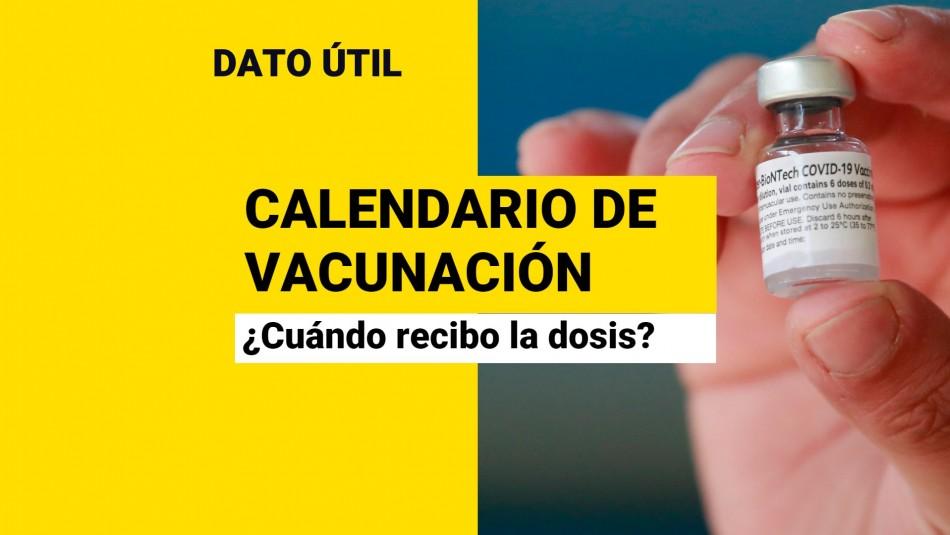 Calendario de vacunación Covid: ¿Quiénes reciben la dosis este miércoles 13 de octubre?