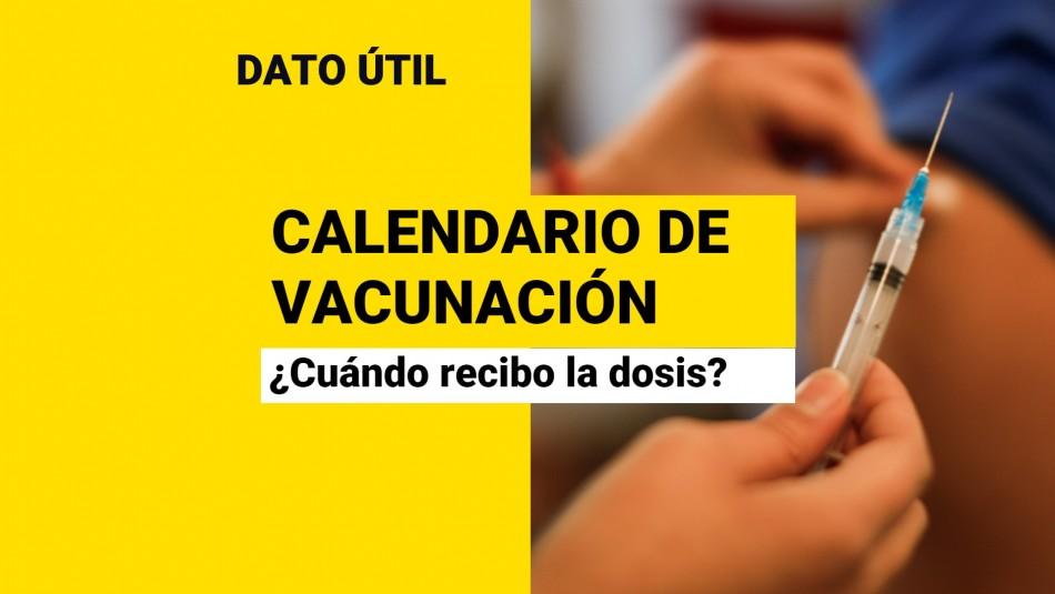 Calendario de vacunación Covid: ¿Quiénes reciben la dosis este jueves 30 de septiembre?