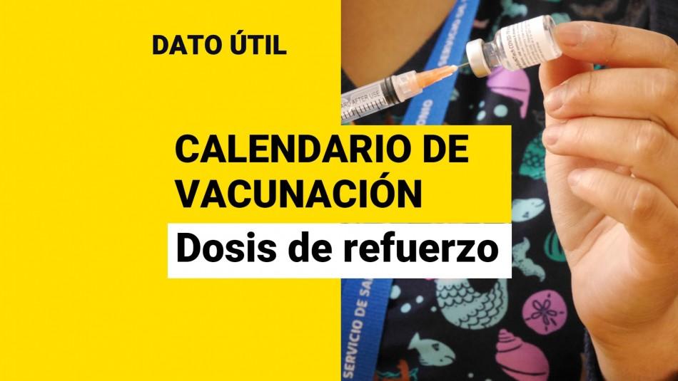 Dosis de refuerzo: ¿Quiénes reciben la vacuna este viernes 1 de octubre?