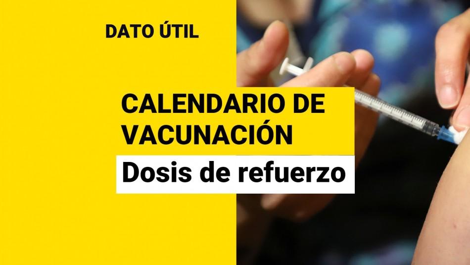 Dosis de refuerzo: ¿Quiénes reciben la vacuna este martes 21 de septiembre?