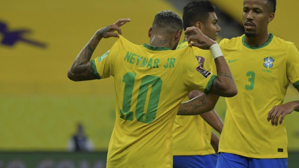 Brasil alarga su racha ganadora en las eliminatorias sudamericanas al vencer a Perú