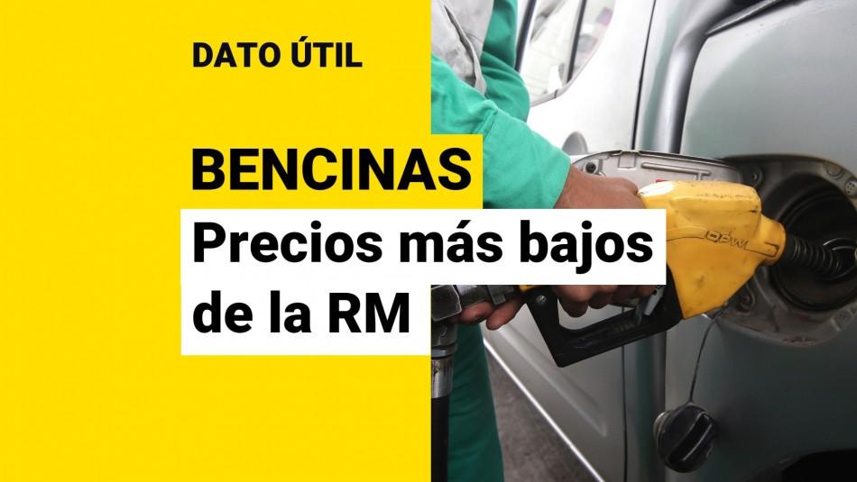 precio de la bencina