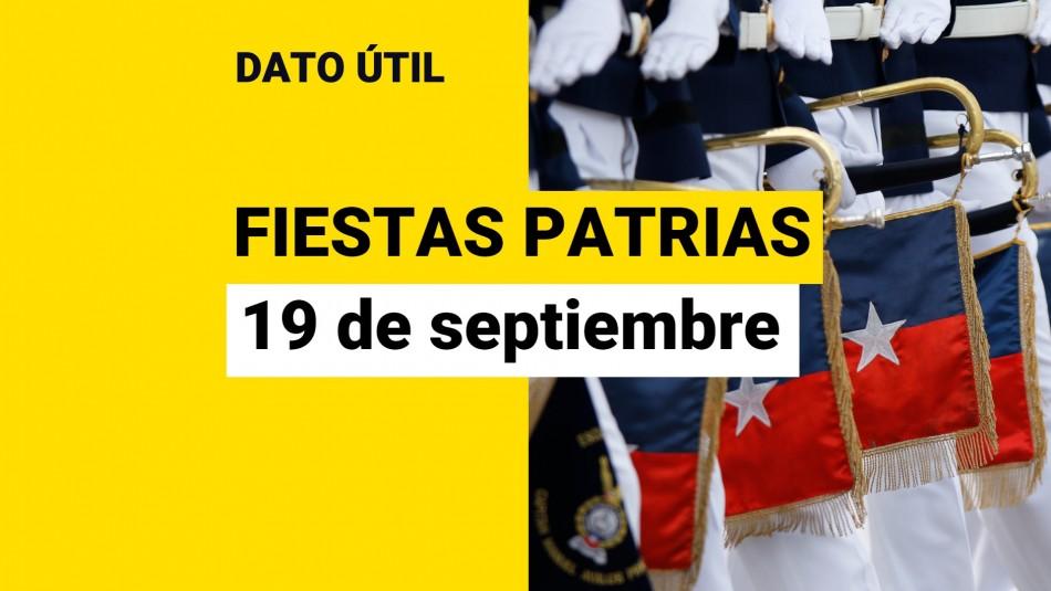 que se celebra 19 de septiembre parada militar