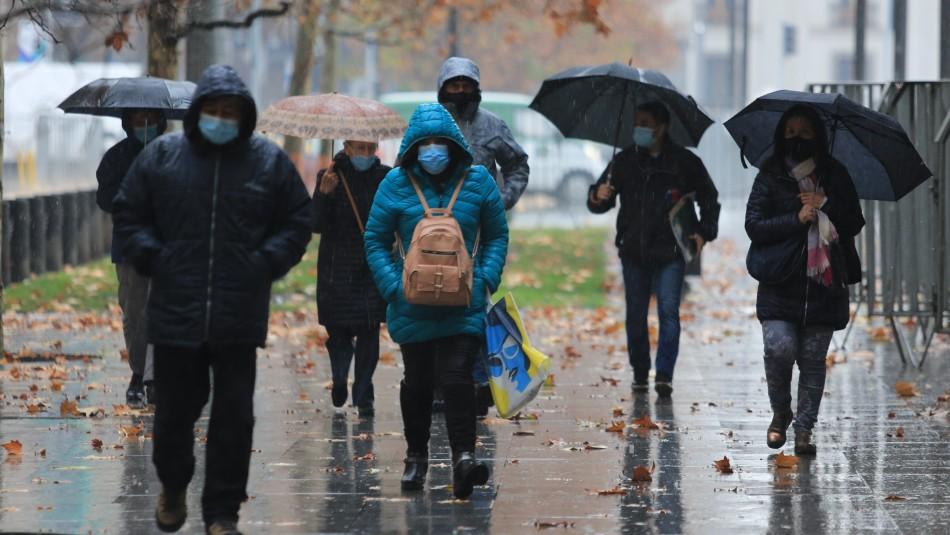 Aviso meteorólogico: Continúan lluvias y se pronostican