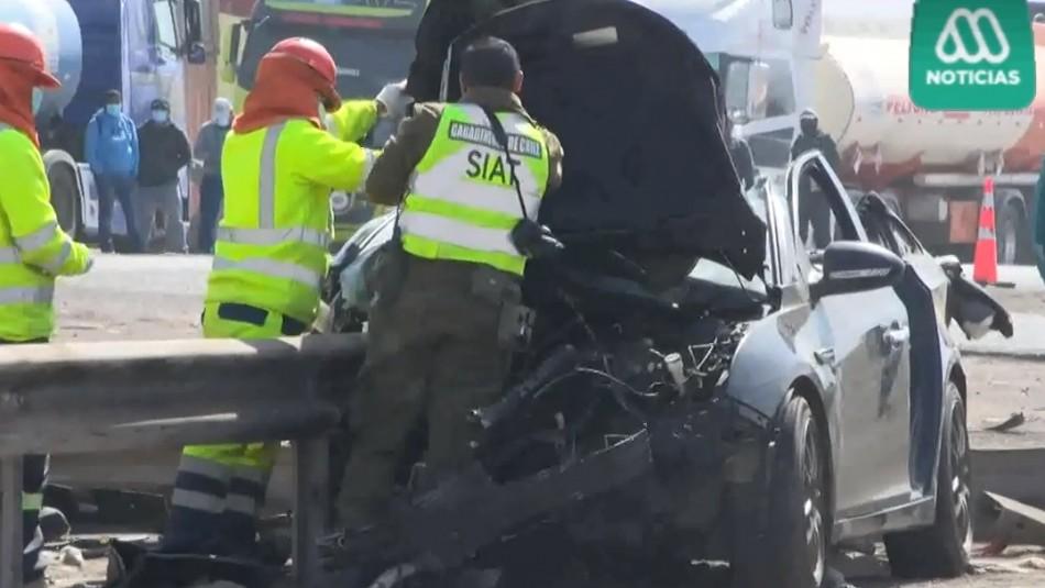 Tres personas fallecieron en accidentes en Alto Hospicio: Único detenido manejaba en estado de ebriedad