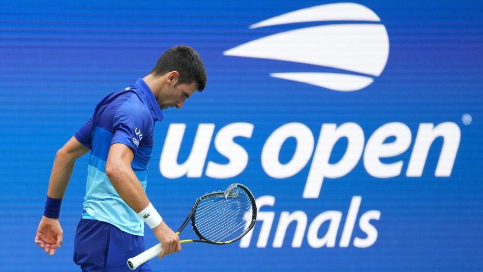 No pudo lograr el Grand Slam: Djokovic perdió la final del US Open ante el ruso Medvedev