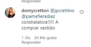 Comentario de la hermana de Jean Philippe Cretton
