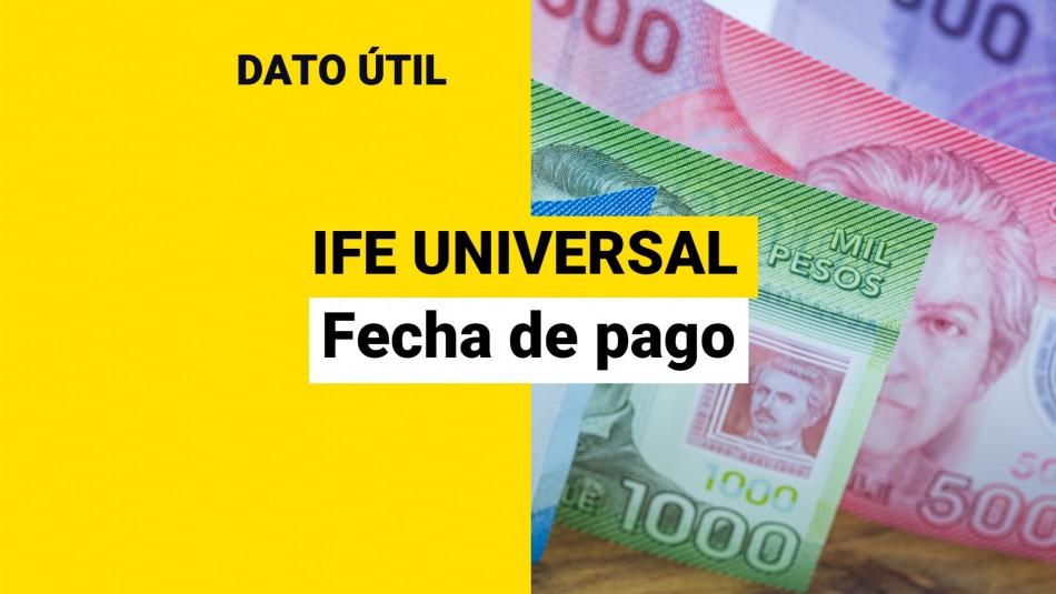 IFE Universal: ¿Cuándo se paga el bono de septiembre y qué monto recibiré?