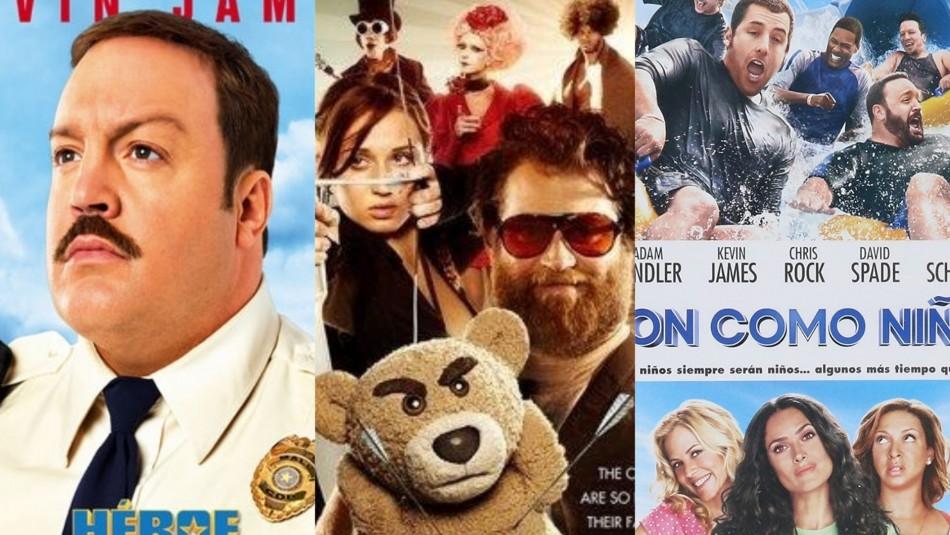 Para pasar la caña: Cinco películas que te harán reír y que están disponibles en Netflix