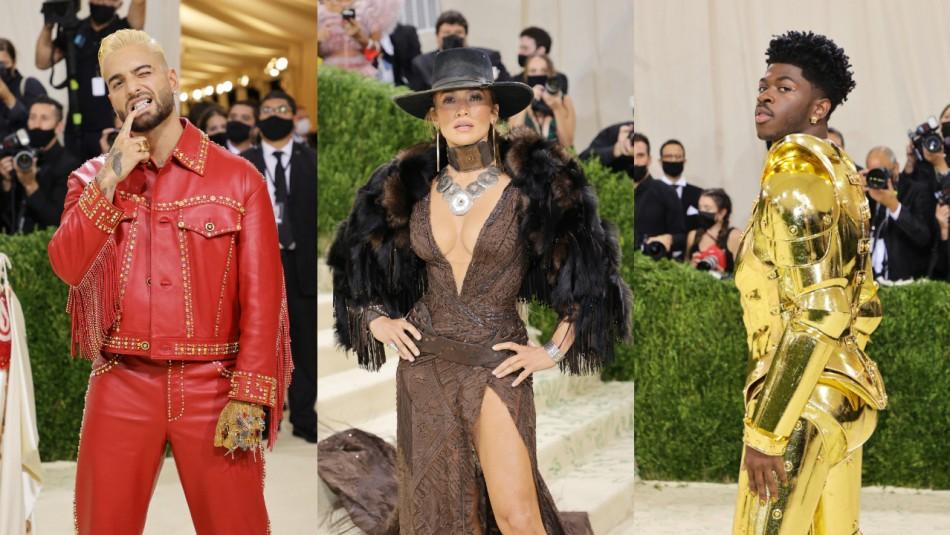 Jennifer Lopez y Megan Fox se robaron las miradas: Estos fueron los mejores looks de la Met Gala 2021