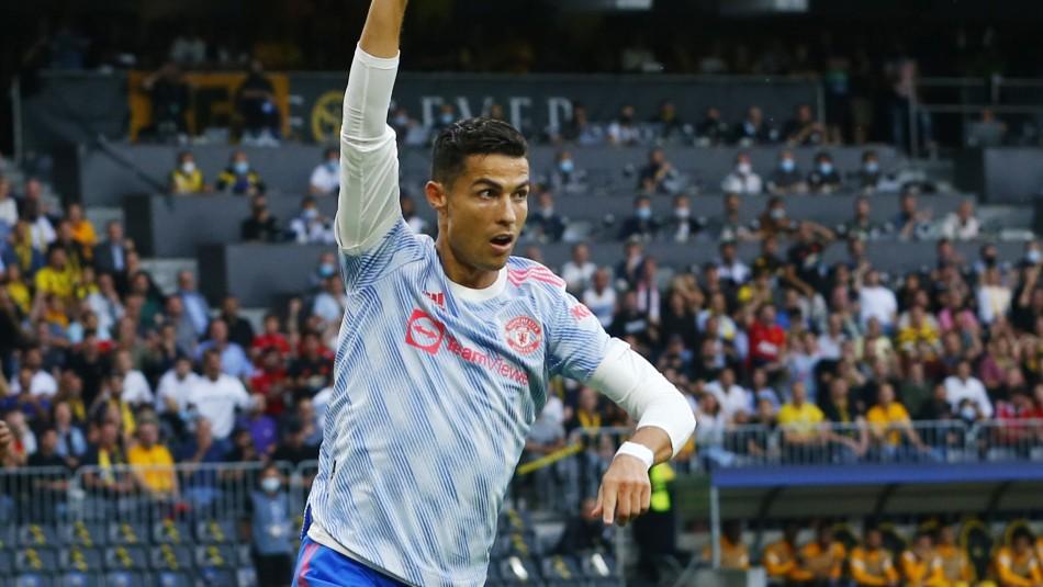 Manchester United cae ante Young Boys pese a gol de Cristiano Ronaldo