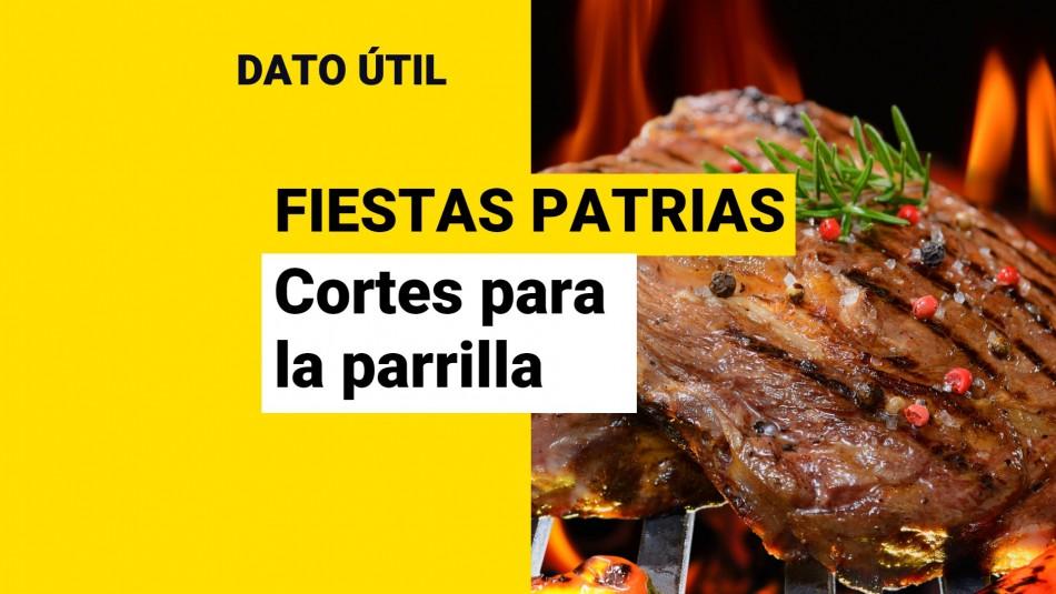 Fiestas Patrias: ¿Cuáles son los mejores corte de carne para la parrilla?
