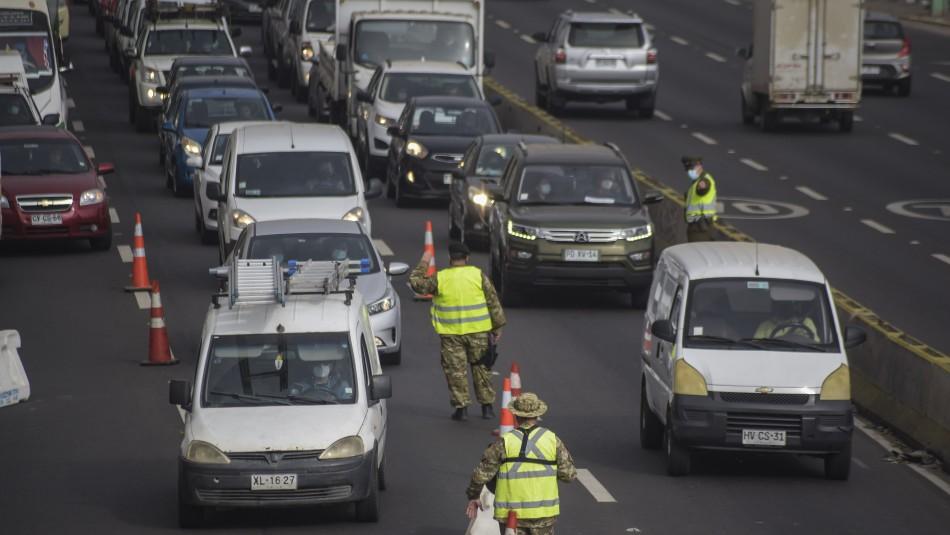 Fiestas Patrias: 390 mil vehículos saldrían de Santiago durante el fin de semana