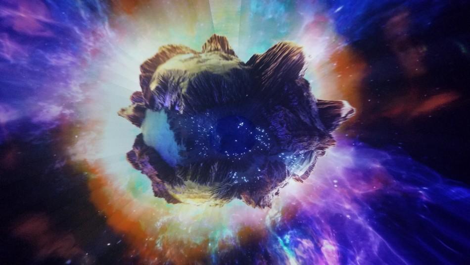 Imágenes captan extraño asteroide con forma de hueso y con dos lunas