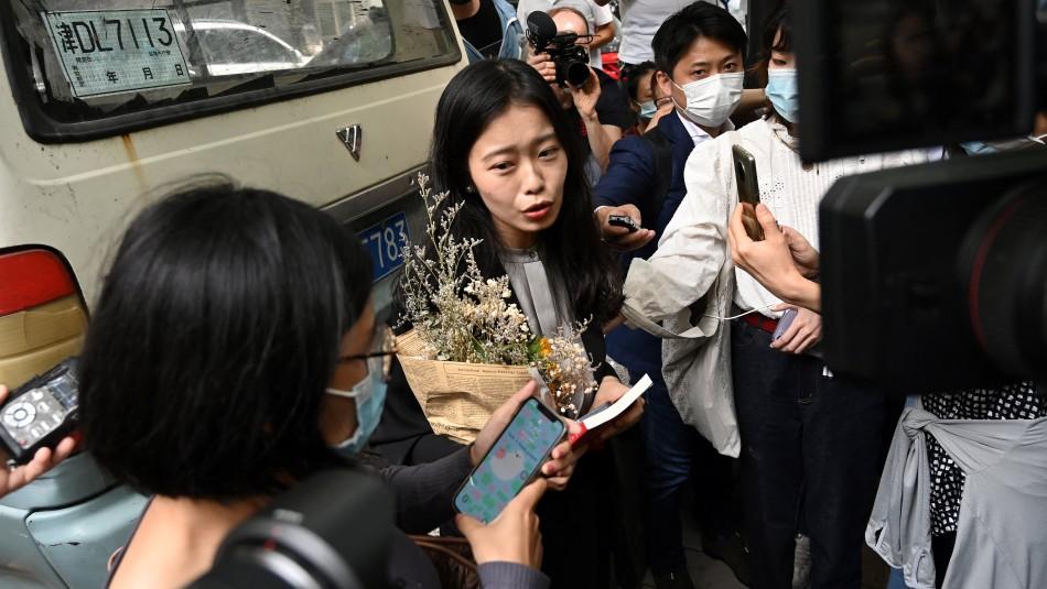 Tribunal chino desestima el primer caso #MeToo: