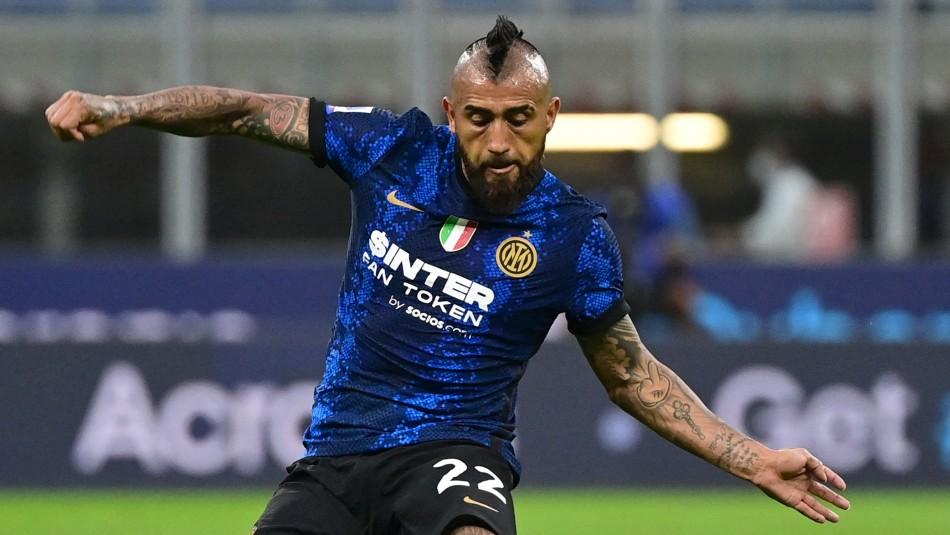 Con Vidal en cancha: Inter de Milán cae ante el Real Madrid por Champions League