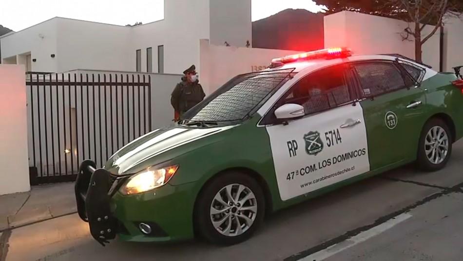Mujer de 76 años está grave tras ser atacada con un machete por su esposo en Las Condes
