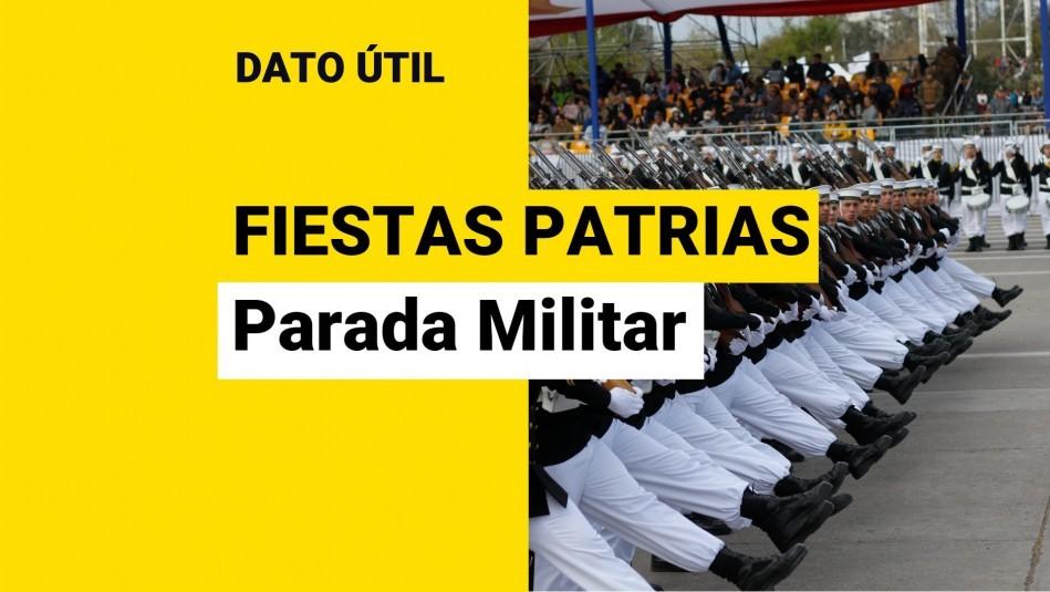 Parada Militar: ¿A qué hora comienza el tradicional desfile?