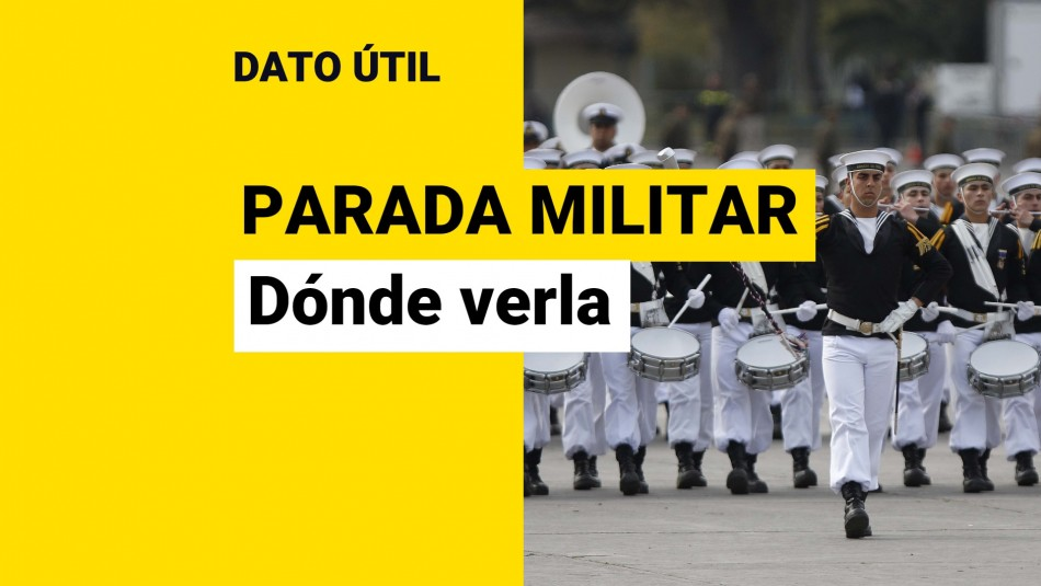 donde ver la parada militar
