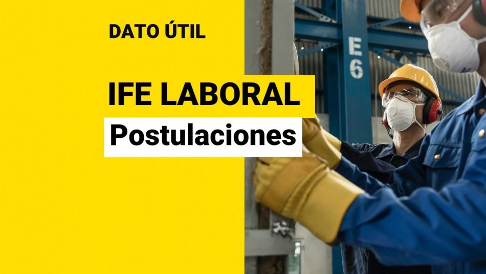 ife laboral postulaciones