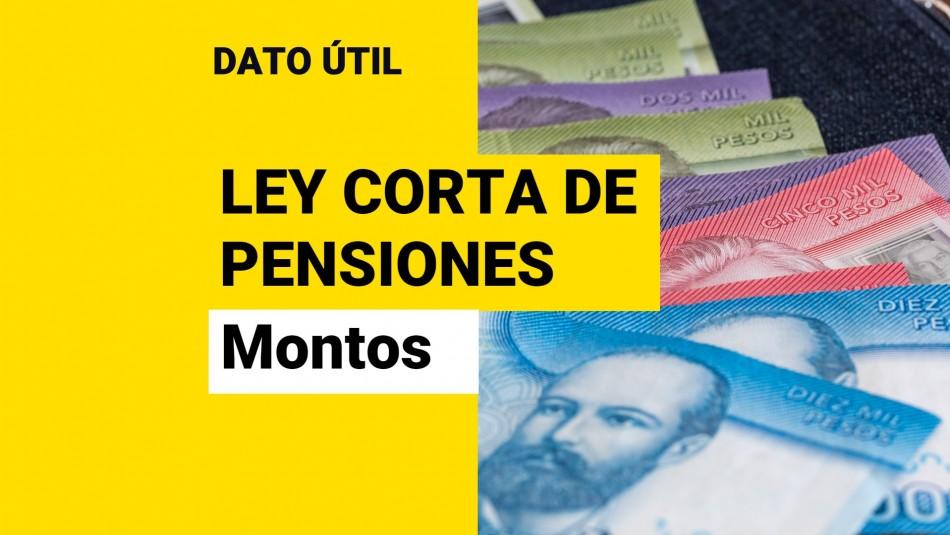 nuevos montos pensiones
