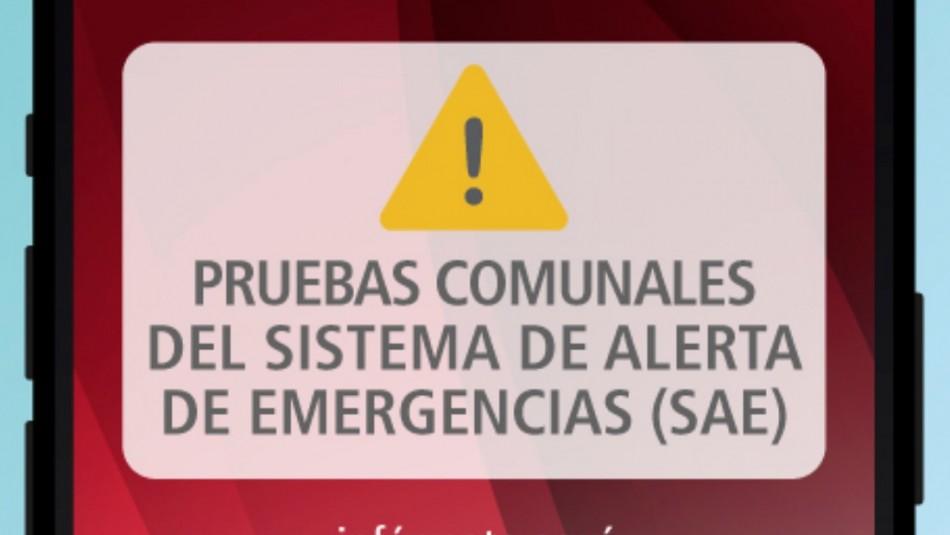Por qué la Onemi envió un mensaje del Sistema de Alerta de Emergencia a los teléfonos en algunos sectores de la RM
