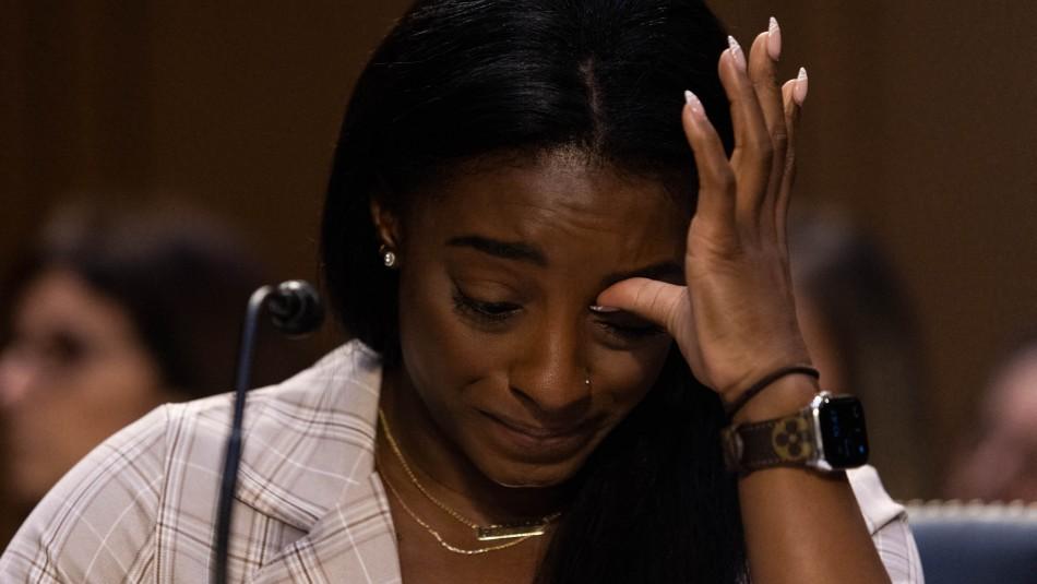 Simone Biles se quiebra ante el Senado al declarar por los abusos sufridos: