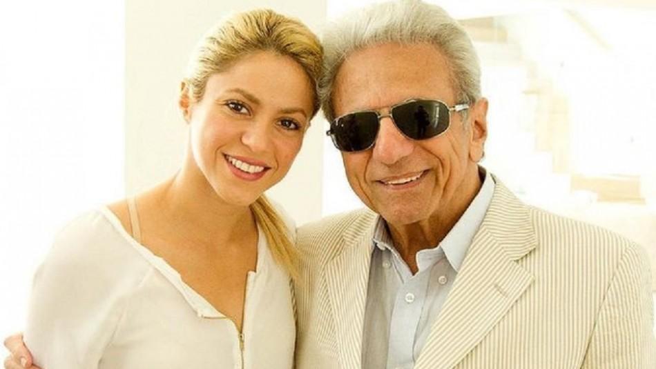 Shakira baila con su papá y le dedica un hermoso homenaje: