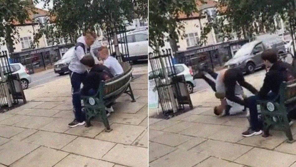 Desconocido intentó agredir a joven de 16 años sin saber que su
