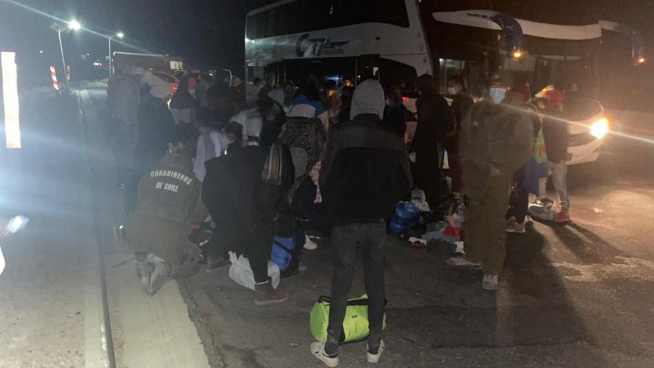 Ingresó a 57 extranjeros a Chile por paso no habilitado: Detuvieron a conductor por tráfico de inmigrantes