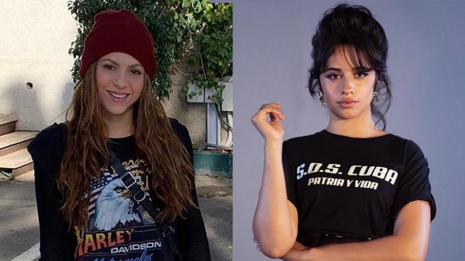 Camila Cabello y Shakira se llenan de halagos en Instagram y desatan rumores de colaboración