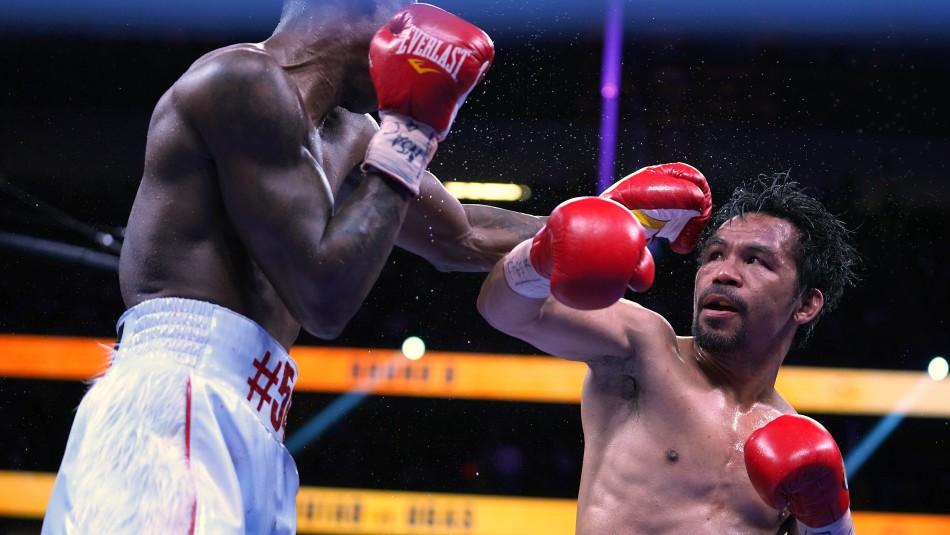 El boxeador Manny Pacquiao anunció su candidatura a la presidencia de Filipinas