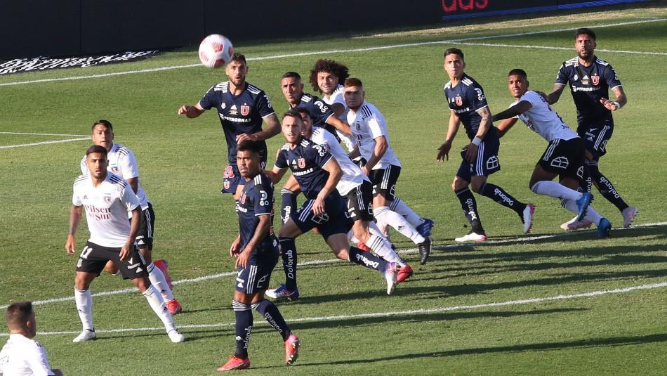 Superclásico entre U. de Chile vs Colo Colo destaca en fecha 22 del torneo nacional