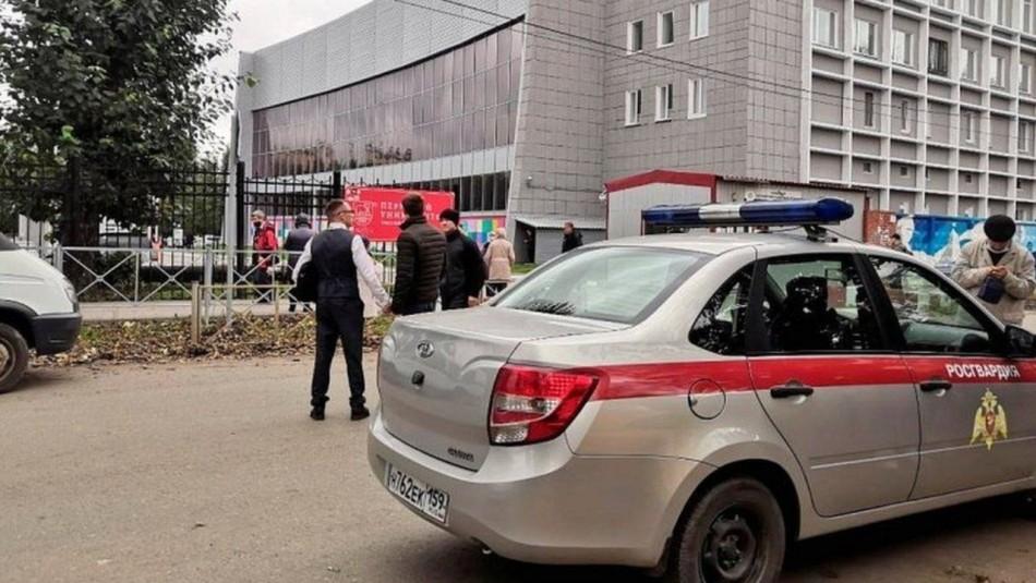 Al menos 8 muertos en tiroteo en universidad en Rusia: No se descarta que hayan más fallecidos