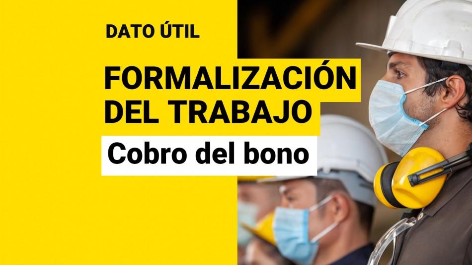 Bono por Formalización del Trabajo