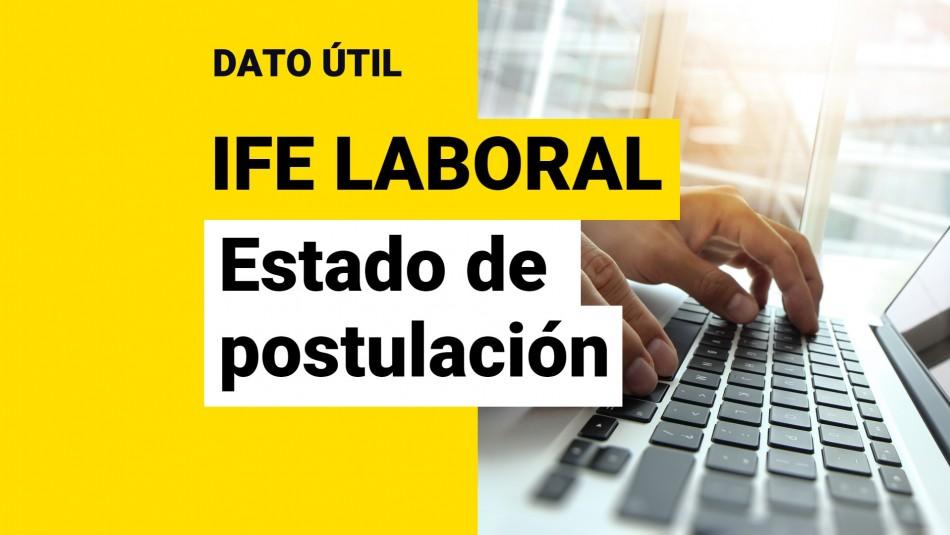 Estado de postulacion IFE Laboral
