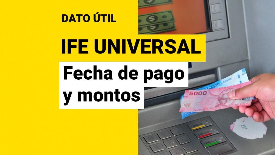 IFE Universal de septiembre 2021 fecha de pago