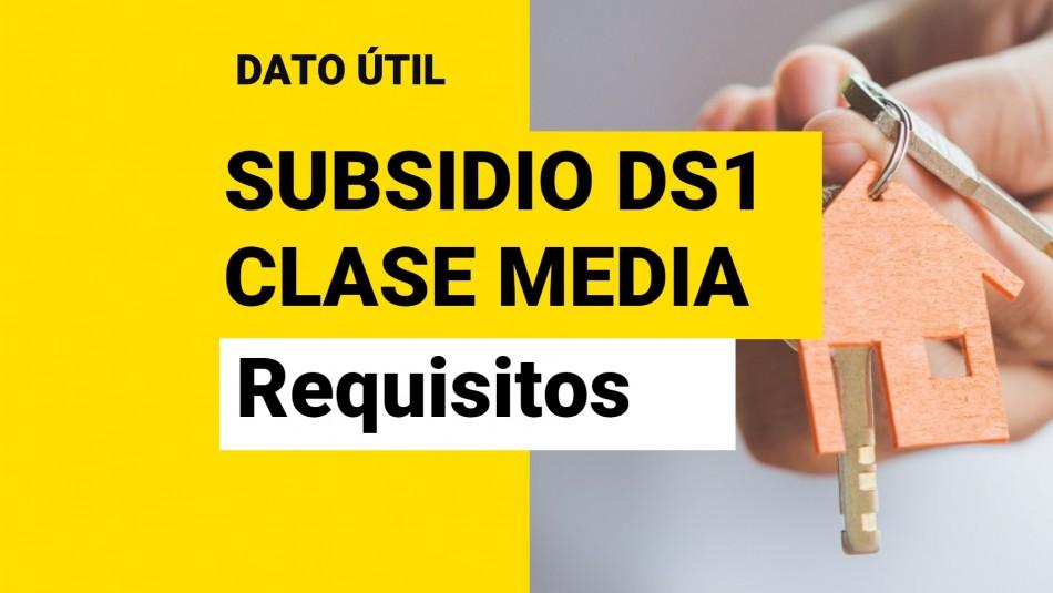Subsidio DS1 para Compra de Vivienda: ¿Cuáles son los requisitos del Tramo 2?