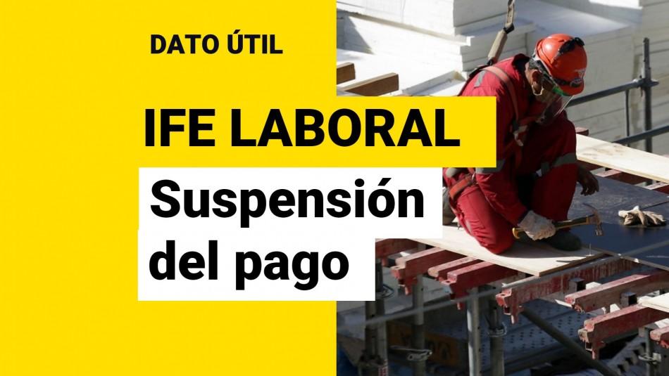 IFE Laboral: ¿En qué casos se suspende o se termina de forma anticipada el beneficio?