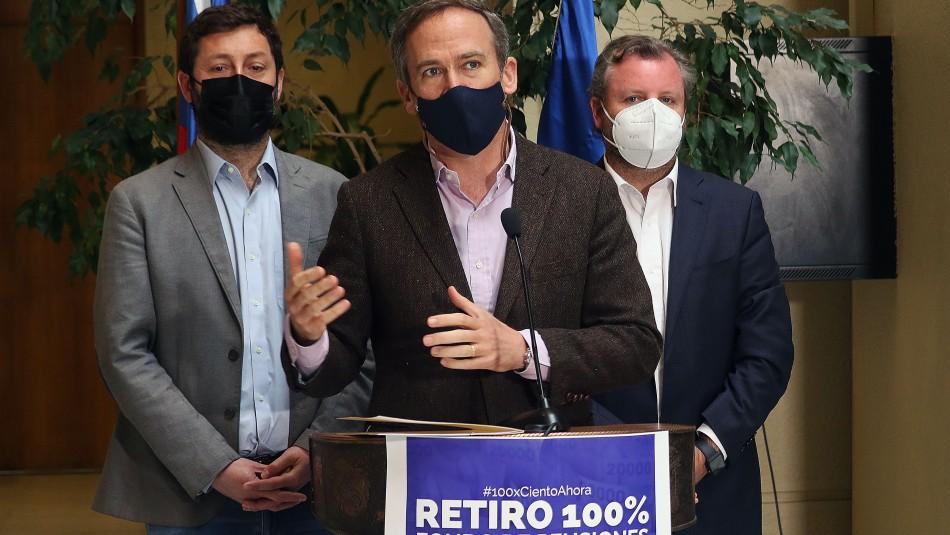 Retiro del 100%: Diputado Alessandri vuelve a ingresar proyecto para retirar la totalidad de los fondos de AFP