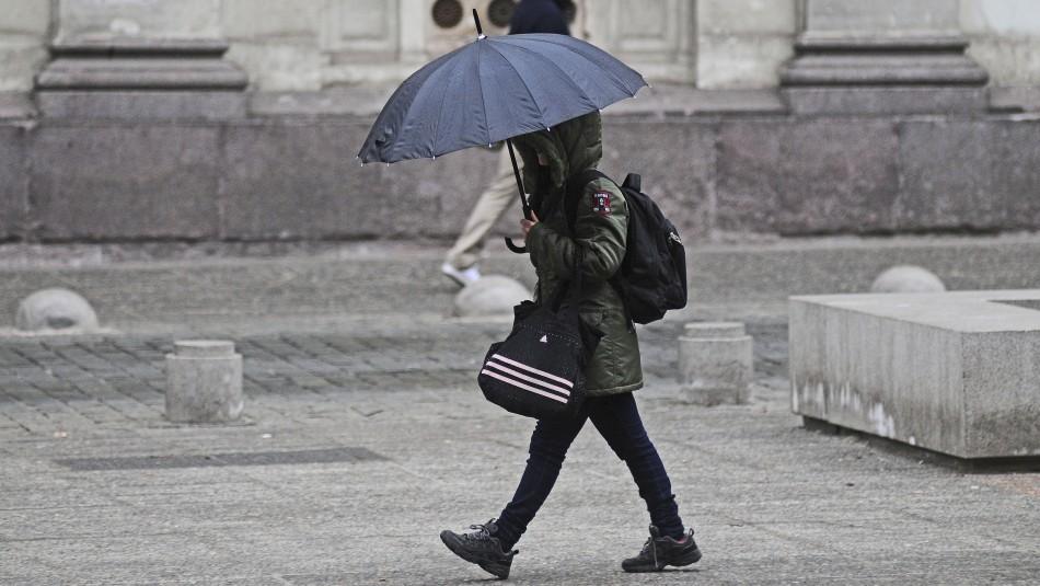 Pronostican precipitaciones para este miércoles en Santiago