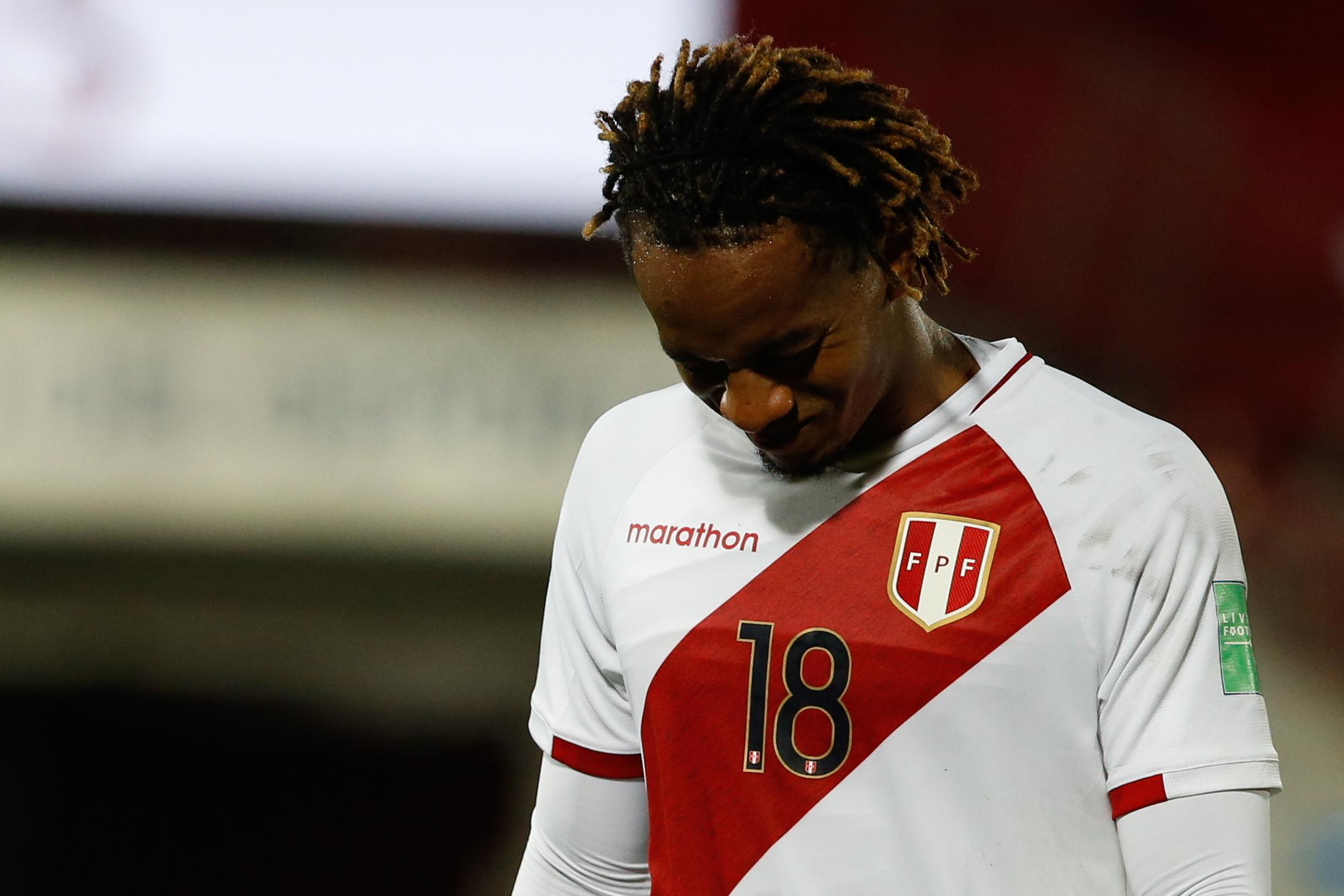 Perú sufre primera baja para duelo ante Chile por las Eliminatorias