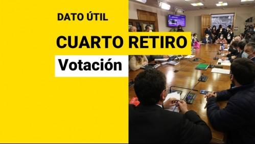 Cuarto retiro del 10%: ¿Cuándo es la votación de los proyectos?
