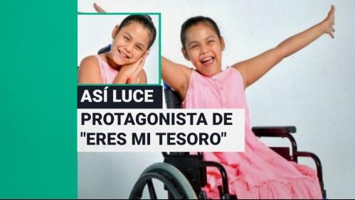 Fue operada para mejorar su calidad de vida: Así luce hoy Isidora Guzmán, la niña de