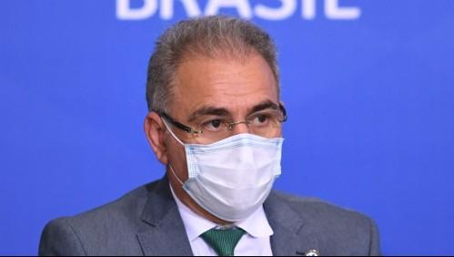 Ministro de Salud brasileño, parte de la Asamblea General de la ONU, dio positivo por coronavirus