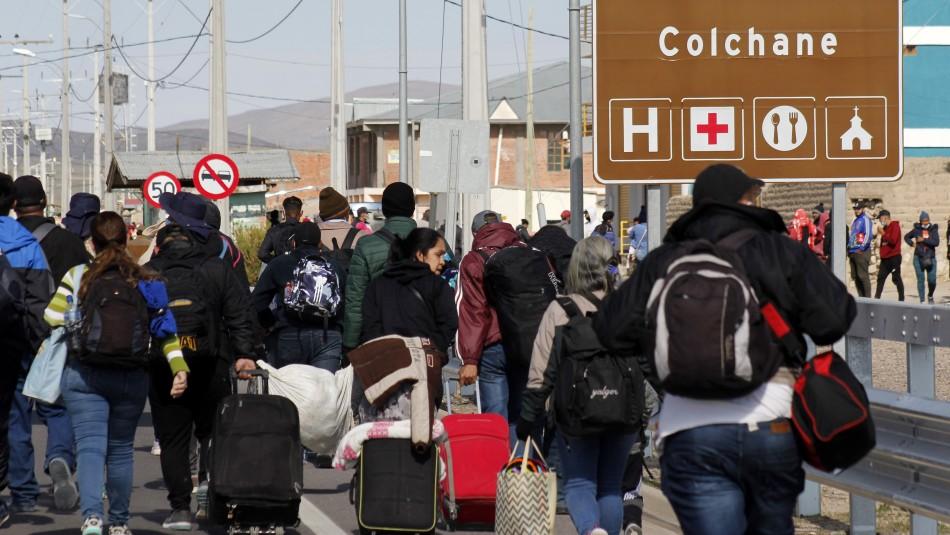 Ministro Delgado advierte que retomarán expulsiones: