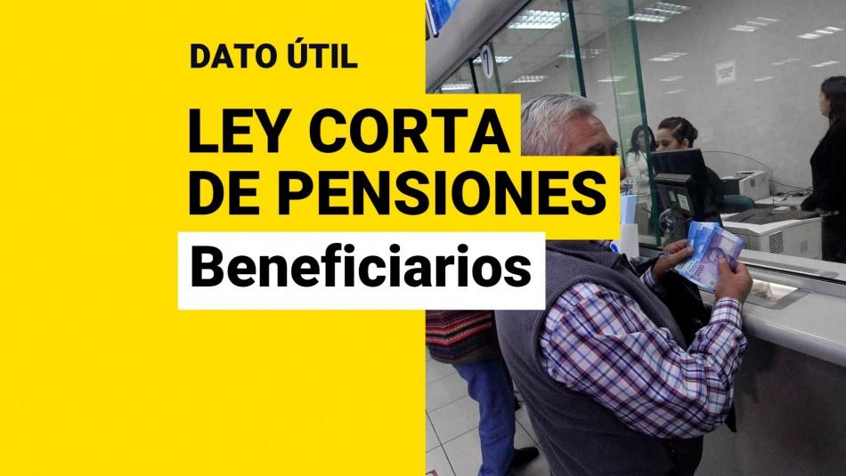 Ley corta de pensiones aporte previsional solidario