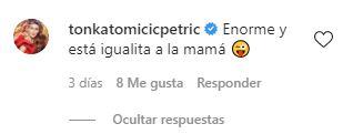 Comentario de Tonka Tomicic