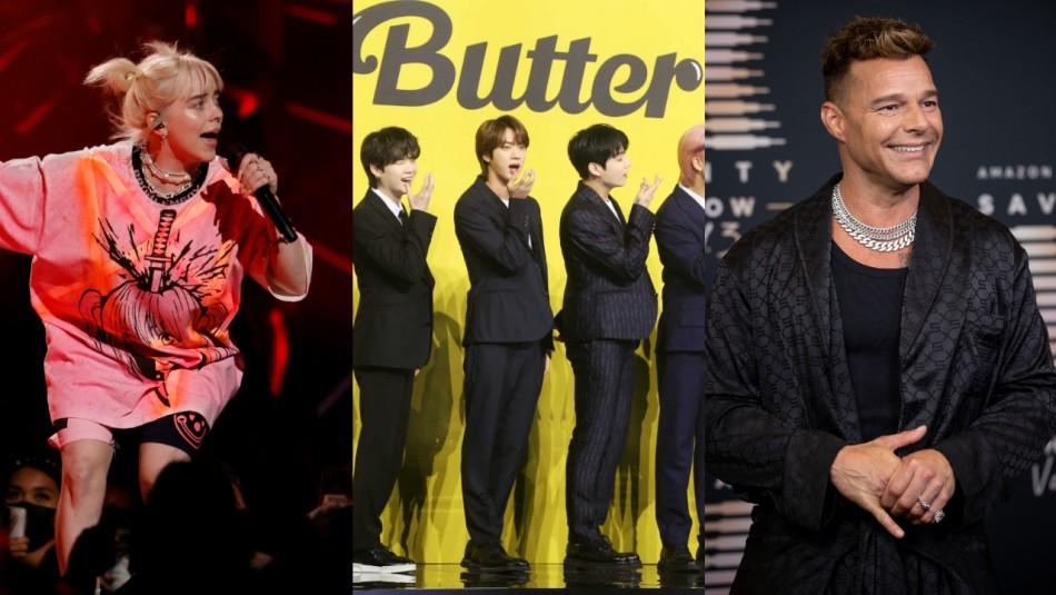 Por el planeta: Billie Eilish, BTS y Ricky Martin participarán en concierto de 24 horas para generar consciencia social