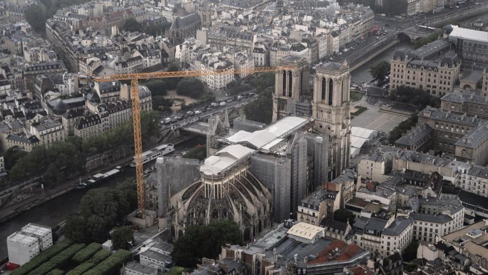 840 millones de euros en donaciones para la reconstrucción de Notre Dame de París